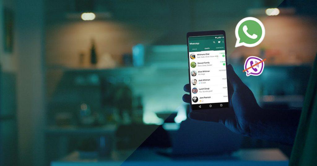 WhatsApp over Viber
